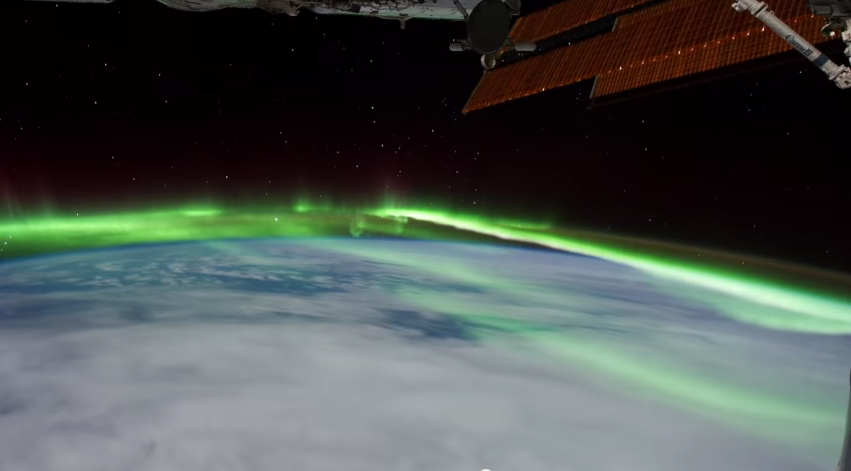 All Alone in the Night – Time-lapse footage of the Earth as seen from the ISS